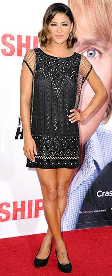 The Gossip Girl stunner wowed at the May 29 premiere of her new comedy in a Haute Hippie dress and Chanel shoes.