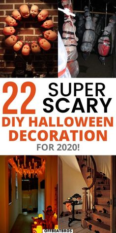 Scary Decorations, Spooky Halloween Decorations, Halloween Banner, Outdoor Halloween, Halloween Party Decor, Scary Halloween, Halloween Stuff, Halloween Decorating Ideas, Haloween Party