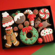 decorated cookies, wedding cookies, logo cookies, baby cookies, love cookies - Custom Cookie Co (UK) Logo Cookies, Baby Cookies, Iced Cookies, Cute Cookies, Christmas Cookies Gift, Christmas Cake Decorations, Christmas Goodies, Christmas Treats, Cookie Gifts