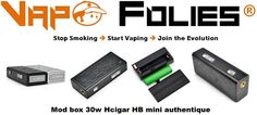 Box mod 30 watts HB Mini Hcigar original – 40,18 € FD inclus