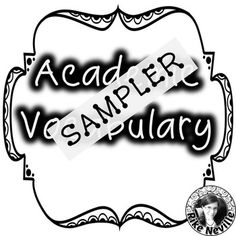 This sampler of list #3 in my Academic Vocabulary series will give you a clearer picture of what each resource has to offer than the previews alone.Academic vocabulary--the bane of every university-bound student's life!  Learning these words is challenging for most--but especially for ESL students.