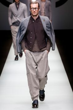 Giorgio Armani Fall 2018 Menswear Fashion Show