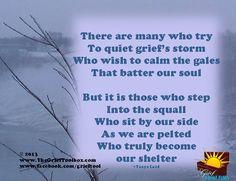 Quiet Griefs Storm - A Poem | The Grief Toolbox