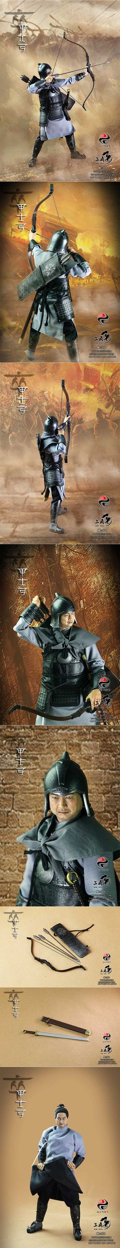 [303TOYS 1/6 China series (Soldier) soldier bow - the whole kit NO.306]