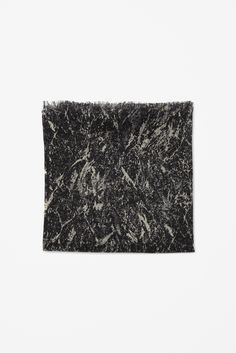 COS - Silk and wool print scarf