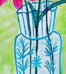 Детали:  ваза.
