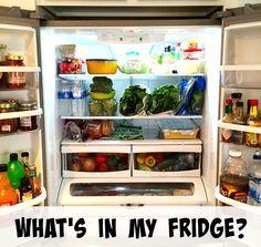 What's In My #Vegan Fridge? | The Friendly Fig