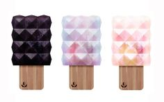 Creatives Make Colorful Geometric Popsicles That May Be Too Gorgeous To Eat - DesignTAXI.com