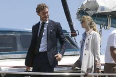 Pierre Casiraghi and Beatrice Borromeo met with South African and Swiss explorer and adventurer Mike Horn. www.newmyroyals.com