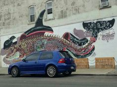 Informative graffiti art