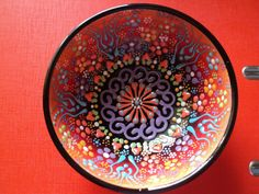 Decorative Turkish ceramic bowl