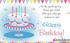 Happy Birthday Quotes And Pictures For Facebook Singing Birthday Cards, Animated Birthday Cards, Birthday Greetings Friend, 30th Birthday Wishes, Birthday Greetings For Facebook, Free Birthday Card, November Birthday, Happy Birthday Friend, Birthday Cards For Friends