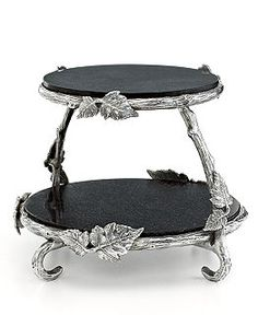 Martha Stewart Collection Serveware, Park Vines Collection - Serveware - Dining & Entertaining - Macy's Coffee Table Kitchen, Outdoor Catering, Serveware Accessories, Victorian Bed, Tiered Server, Chain Headpiece, Top Luxury Cars, Silver Gifts, Apothecary Jars