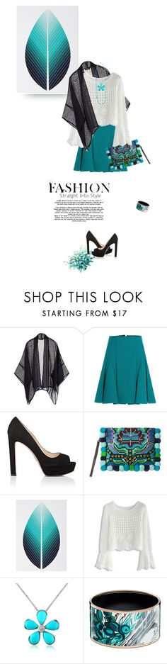 """mood1644"" by du321 ❤ liked on Polyvore featuring Eskandar, Roland Mouret, Prada, JADE TRIBE, Chicwish and Del Gatto"
