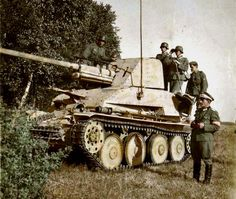 Marder 1 tank with crew.