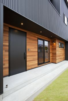 Exterior House Siding, Exterior Wall Cladding, House Cladding, Exterior House Colors, Exterior Design, Cladding Design, Weatherboard House, Home Structure, Bedroom House Plans