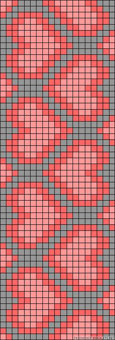 heart chart could be used for knitting, crochet, cross-sitch. Might be great on a wayuu mochilla Tapestry Crochet Patterns, Bead Loom Patterns, Beading Patterns, Cross Stitch Patterns, Crochet Chart, Filet Crochet, C2c Crochet, Crochet Cross, Crochet Poncho