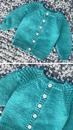 Baby Cardigan Knitting Pattern Free, Baby Sweater Patterns, Knitted Baby Cardigan, Chunky Knitting Patterns, Knit Baby Sweaters, Knit Patterns, Cardigan Pattern, Baby Boy Sweater, Knit Cowl