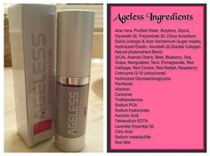 Use this wonderful product anywhere you have skin! It improves the elasticity of the skin, minimizes the appearance of wrinkles and more!