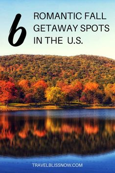 Best October Vacations, Vacations In The Us, Fall Vacations, Dream Vacations, Best Romantic Getaways, Romantic Vacations, Romantic Places, Romantic Travel, Couples Vacation