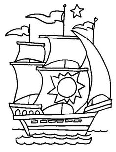 Boats - 999 Coloring Pages - so many boat desgins