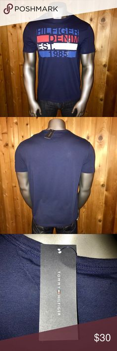 440ad9821 NWT Tommy Hilfiger Denim Classic Men's XL T-Shirt Brand New With Tags! Size