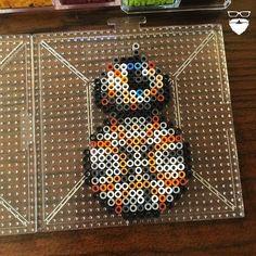 BB-8 Star Wars VII perler beads by  piercepopart