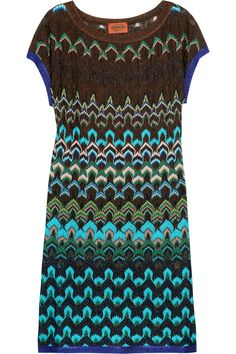 If I was 50 pounds lighter I would so wear this -missoni