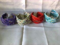 Kenya bangles collection -A  set of 4 multilayer Masai wire bangle bracelet #Unbranded