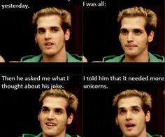 Mikey way and unicorns