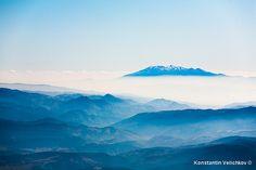 Bozdag above the clouds, Greece by Konstantin Velichkov photography, via Flickr