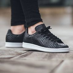 new style 5db1c a9dea Cheap Unisex Adidas Originals Stan Smith Black white S75137 Shoes Cheapest