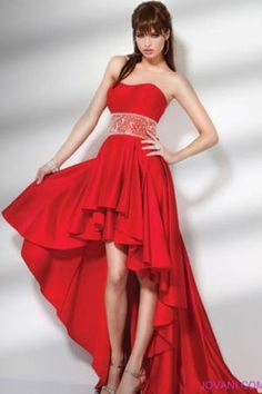Bonito vestido Color Rojo