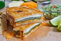 Jalapeño Popper Grilled Cheese Sandwich - Recipes | Riverbender.com