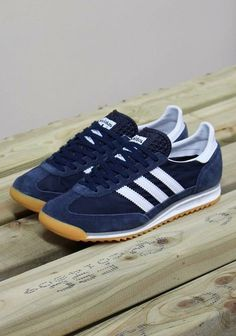 adidas Originals SL 72: Navy Clothing, Shoes & Jewelry : Women : adidas shoes http://amzn.to/2j5OwIR