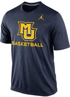 57afbf9e3 Nike Men s Marquette Golden Eagles Basketball Practice T-Shirt