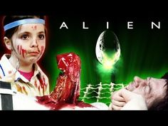 BAHAHAHAHA - ALIEN CHEST BURSTER SCENE - Recreated with Kid actors | Swede Movies