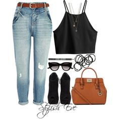 """""""Alaa."""" by stylisheve on Polyvore Stylish Eve Outfits, Fall Outfits, Summer Outfits, Cute Outfits, Casual Chic, Casual Wear, Polyvore Fashion, Style Me, Persecution"""