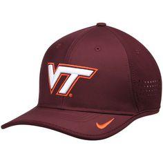 948578a71ef Men s Nike Maroon Virginia Tech Hokies Coaches Sideline Vapor Performance  Adjustable Hat