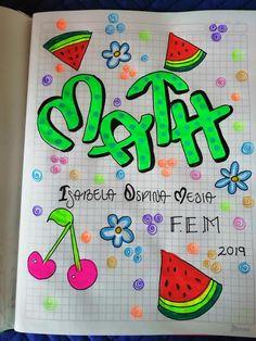Caratulas para cuadernos 2020 - Blog Educativo Notebook Art, Cute Disney Drawings, School Notebooks, Bullet Journal Spread, School Notes, Art Decor, Nail Designs, Banner, Doodles