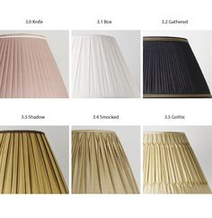 When it come to pleated lampshades nobody comes close to Besselink & Jones