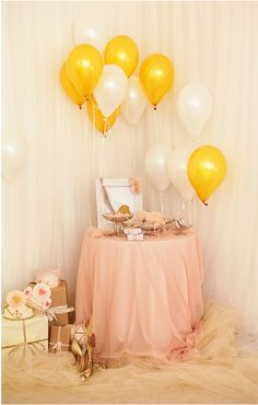 wedding display 淡いピンクのディスプレイ