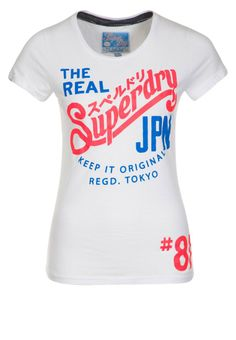 Superdry T-shirt white