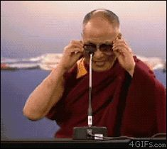 Share this Dalai lama with lasers Animated GIF with everyone. is best source of Funny GIFs, Cats GIFs, Reactions GIFs to Share on social networks and chat. Anim Gif, Animated Gif, Dalai Lama, Weekend Gif, What Gif, Amazing Gifs, Someone Told Me, I Got You, Best Funny Pictures