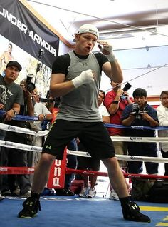 Canelo Alvarez is awestruck by the prospect of trying to do something that no one else has done – defeat pound-for-pound king Floyd Mayweather – he doesn't show it (Photo credit: Stephanie Trapp:SHOWTIME).