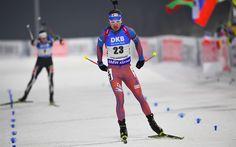 Download wallpapers Anton Shipulin, 4k, biathlete, race, winter sport, biathlon