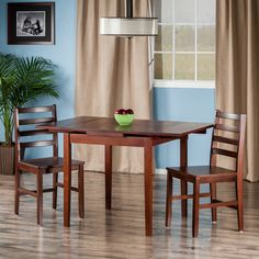 Found it at Wayfair - Shaws 3 Piece Dining Set