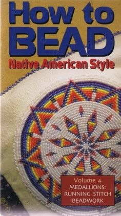 How to Bead Native American Style Volume Medallions -- Running Stitch Beadwork Native Beading Patterns, Beadwork Designs, Seed Bead Patterns, Beaded Jewelry Patterns, Indian Beadwork, Native Beadwork, Native American Beadwork, Native American Patterns, Native American Crafts