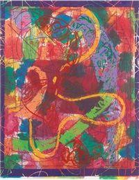 Estoril Five II by Frank Stella