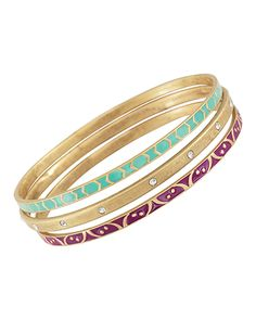 Really cute bangles! Great for stacking Carnivale Bangles, Bracelets - Silpada Designs
